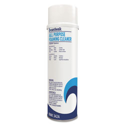 Boardwalk All-Purpose Foaming Cleaner w/Ammonia, 19oz Aerosol