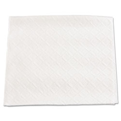 "Boardwalk Beverage Napkins, 1-Ply, 9 1/2"" x 9"", White, 4000/Carton"