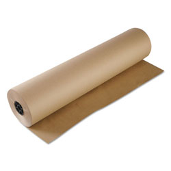 Boardwalk Kraft Paper, 36 in x 1,000 ft, Brown