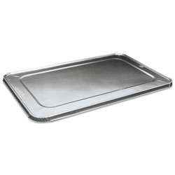 Boardwalk Full Size Steam Table Pan Lid For Deep Pans, Aluminum, 50/Case