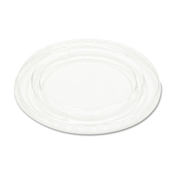 Boardwalk Crystal-Clear Portion Cup Lids for 5.5 Oz Cups