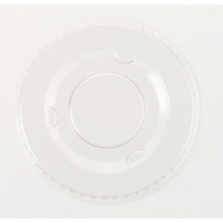 Boardwalk Crystal-Clear Portion Cup Lids for .5 - 1 Oz Cups