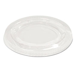 Boardwalk Soufflé/Portion Cup Lids f/3 1/4 to 4 oz Cups, Clear, 2400/Carton