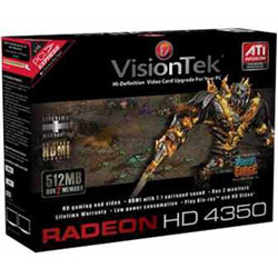 Visiontek Radeon HD 4350 - Graphics Adapter - Radeon HD 4350 - 512 MB