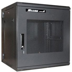 Startech 12U 19in Hinged Wall Mount Server Rack Cabinet w/ Steel Mesh Door - Wall Mount Cabinet - 12U