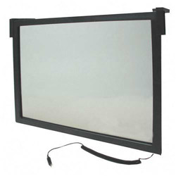 "Compucessory 20500 Anti Radiation Glare Filter for 16"" - 17"" Screen, Black"