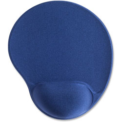 "Compucessory 45162 Blue Gel Mouse Pad, 9"" x 10"" x 1"""