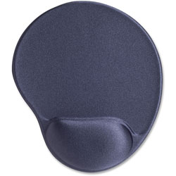 "Compucessory 45163 Gray Gel Mouse Pad, 9"" x 10"" x 1"""