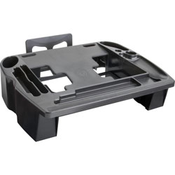 "Compucessory 55200 Telephone Stand And Organizer, 11 1/2""x9 1/2""x5"", Black"