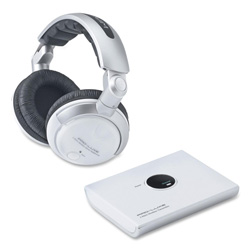 Compucessory 59226 Wireless Headphone w/Volume Control Mute Feature, 2.4GHz