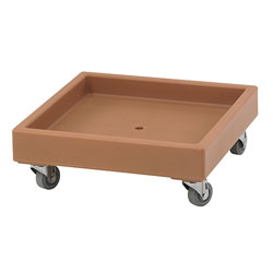 Cambro Camdolly for Camracks, Coffee Beige