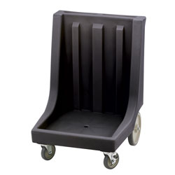 Cambro Camdolly with Handle for Camracks, Black