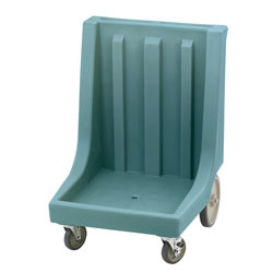 Cambro Camdolly with Handle for Camracks, Slate Blue