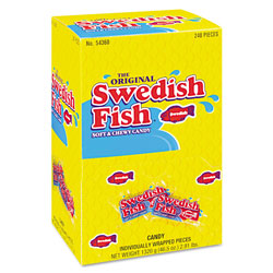 Swedish Fish® Red Candy, Individually Wrapped, 46.5 Ounce