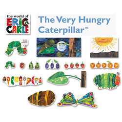 Carson Dellosa Publishing Company Very Hungry Caterpillar Bulletin Board Set, 14 Pieces