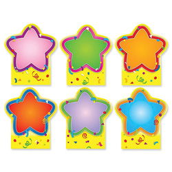 Carson Dellosa Publishing Company Star Good Work Holder, Quick Stick, 6/Pack