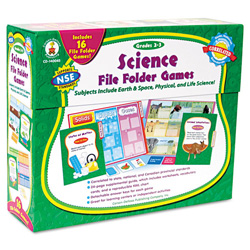 Carson Dellosa Science File Folder Game, Grades 2-3