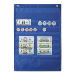 "Carson Dellosa Publishing Company Deluxe Money Pocket Chart, 12"" x 17"", Multi Colored"