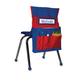 "Carson Dellosa Publishing Company Chairback Buddy, 15""x2""x19"", Blue/Red"