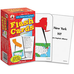 Carson Dellosa Publishing Company U.S. States and Capitals Flash Cards