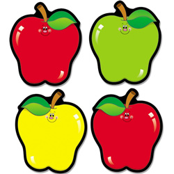 Carson Dellosa Publishing Company Assorted Apple Cut-Outs
