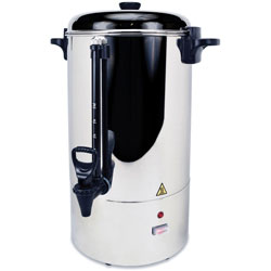 "CoffeePro Urn/Coffeemaker, 80-Cup, 14"" x 18-1/2"" x 24"" Stainless Steel"