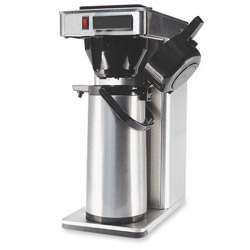 "CoffeePro Commercial Brewer, 120V, 8-1/2"" x 14-1/2"" x 21"" Stainless Steel"