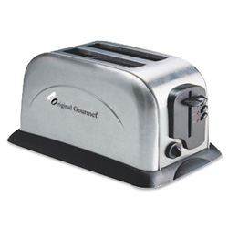 CoffeePro 2-Slice Toaster, Silver