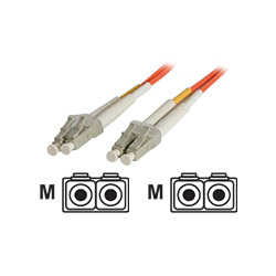 Startech Multimode 50/125 Duplex Fiber Patch Cable LC - LC - Network Cable - 3.3 Ft