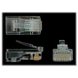 Startech Cat5e RJ45 Stranded Modular Plug Connectors - Network Connector
