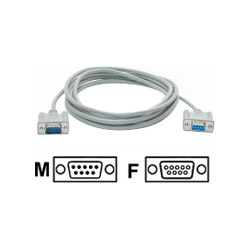 Startech DB9 RS232 Serial Null Modem Cable F/M - Null Modem Cable - 10 Ft
