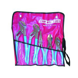 "Channellock 5 Piece Pliers Set"" Kit Bag"