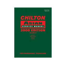 Chiltons Book Company 2008 Asian Service Manual Volume 4