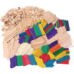 Chenille Kraft Company Wood Crafts Classroom Activities Kit