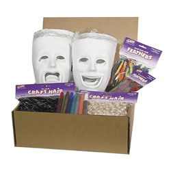Chenille Kraft Company Plastic Masks Classroom Activities