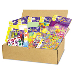 Chenille Kraft Company Scrapbookin` Kids Class Pack with Assorted Scrapbooking Materials