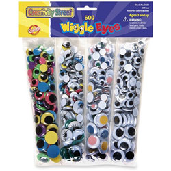 Chenille Kraft Company Assorted Wiggle Eyes
