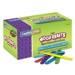 Chenille Kraft Company Colored Wood Craft Sticks