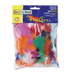 Chenille Kraft Company Bright Hues Feather Assortment