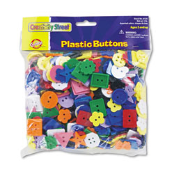 Chenille Kraft Plastic Button Assortment