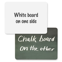 "Chenille Kraft Company Dry Erase and Chalk Board, 9"" x 12"", Unframed"