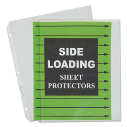 C-Line Side Loading Sheet Protector, Clear