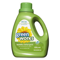 Green Works Liquid Laundry Detergent, Original, 90oz Bottle