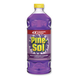 Pine Sol Lavender Clean All-Purpose Cleaner, 48oz Bottle, Case of 8