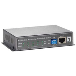 CP TECH LevelOne FSW-0513 - Switch - 4 Ports