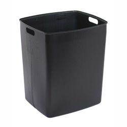 Continental Black Plastic Rigid Trash Can Liners for King Klan and Colossus Series Trash Cans