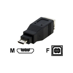 Startech Micro USB To USB B Adapter - USB Adapter