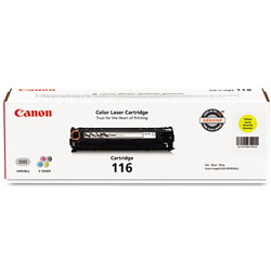Canon 1977B001 Toner, 1,500 Page-Yield, Yellow