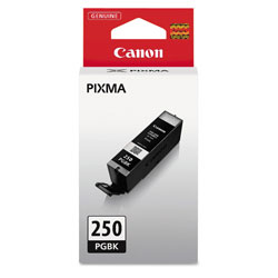 Canon 6497B001 Ink (PGI 250), ChromaLife 100+, Black, 300 Page Yield
