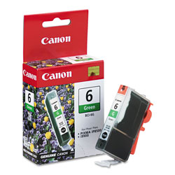 Canon Replacement Ink Tank BCI 6 for S800, S900, S9000; BJC 8200; & Others, Green